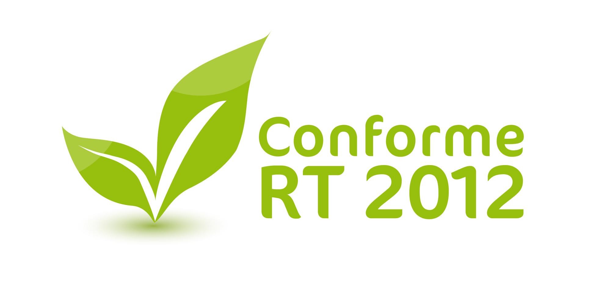 Patch conforme à la RT 2012 avec des feuilles