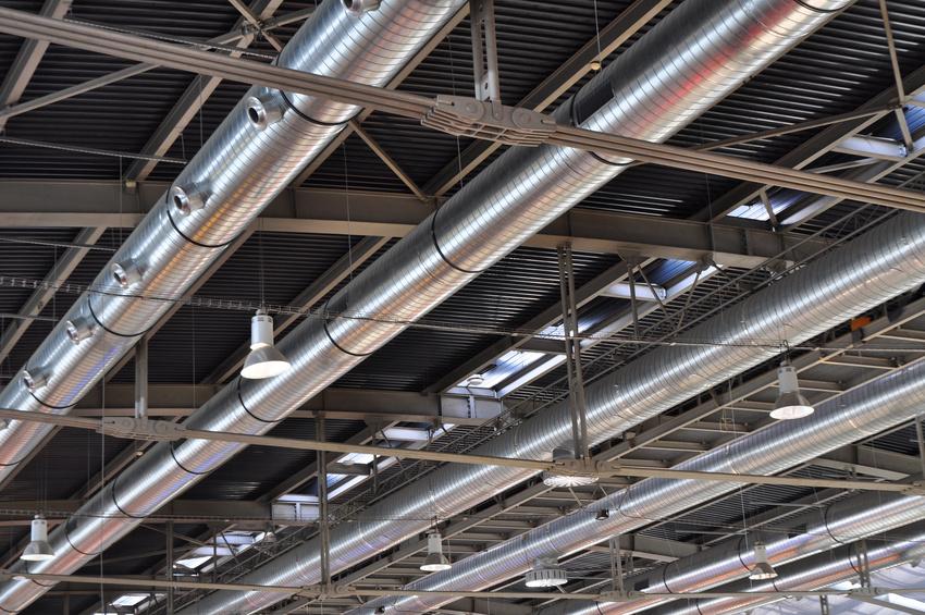 réseau de ventilation